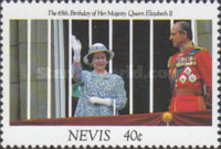[The 65th Anniversary of the Birth of Queen Elizabeth II, Typ UE]