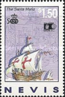 [The 500th Anniversary of Discovery of America by Columbus  and International Stamp Exhibition