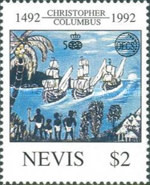 [The 500th Anniversary of Discovery of America by Columbus - Organization of East Caribbean States, Typ WU]
