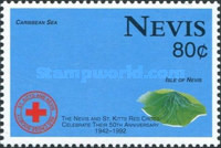 [The 50th Anniversary of St. Kitts-Nevis Red Cross, Typ YH]