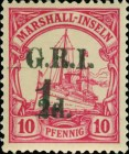 [Stamps of 1914 Surcharged, type F]