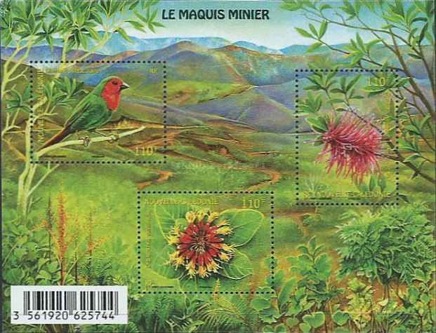 [Bird and Flora of Le Maquis Minier, Typ ]