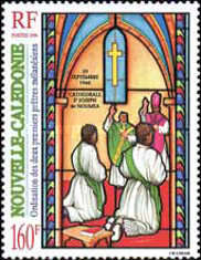 [The 50th Anniversary of Ordination of First Priests in New Caledonia, Typ ACH]