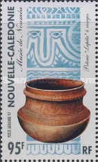 [Airmail - Melanesian Arts and Crafts from the Noumea Museum, Typ ACV]