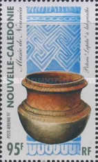 [Airmail - Melanesian Arts and Crafts from the Noumea Museum, Typ ACW]
