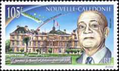 [The 50th Anniversary of the Appointment of Henri Lafleur as First New Caledonian Senator in French Parliament, Typ ACX]