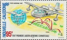 [aAirmail - The 50th Anniversary of Establishment by TRAPAS of First Commercial Air Routes in South Pacific, Typ ADD]