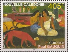 [The 150th Anniversary of the Birth of Paul Gauguin, 1848-1903, Typ ADU]
