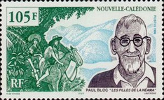 [The 29th Anniversary of the Death of Paul Bloc, 1883-1970, Typ AFI]
