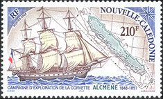 [Exploration of the History of New Caledonia, Typ AJI]