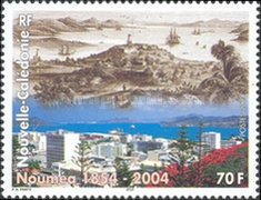 [The 150th Anniversary of Noumea, Typ ALM]