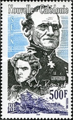 [In honour of Commodore Marquis du Bouzet (1805-1867), Typ ANB]
