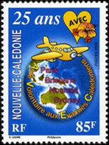 [A.V.E.C. 25th Anniversary of Support for New Caledonian medical evacuees, Typ AOE]