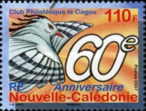 [The 60th Anniversary for the Club Philatelique le Cagou, Typ APL]