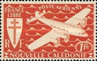 [Airmail - Free France, type AQ]