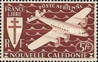 [Airmail - Free France, type AQ2]