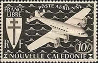 [Airmail - Free France, type AQ3]