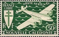 [Airmail - Free France, type AQ5]