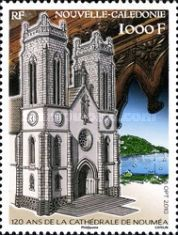 [The 120th Anniversary of St. Joseph-s Cathedral, Noumea, type ATH]