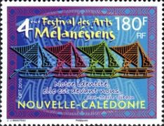 [The 4th Melanesian Art Festival, type ATN]
