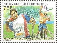 [Paralympic Games - London, England, Typ AVH]
