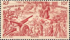 [Airmail - From Chad to the Rhine, Typ AW]