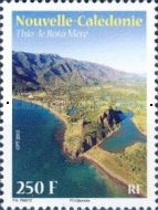 [Landscapes and Animals of New Caledonia, Typ AXD]