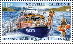 [The 10th Anniversary of the Search and Rescue at Sea Service, Typ AXS]
