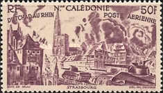[Airmail - From Chad to the Rhine, Typ BA]