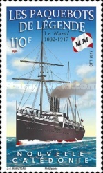 [Legendary Ocean Liners - The Natal, 1882-1917, Typ BAD]