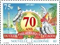 [The 70th Anniversary of the Le Cagou Philatelic Club, Typ BAL]