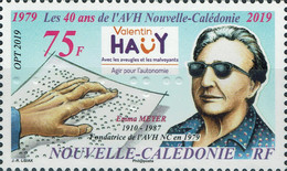 [The 40th Anniversary of Valentin Hauy Association in New Caledonia, type BBV]