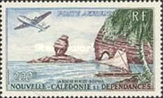 [Airmail - Dam and Rock Formation, type CE]