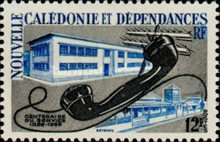 [The 100th Anniversary of Postal Service in New Caledonia, Typ CI]