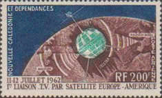 [Airmail - First Direct America-Europe Satellite Link via