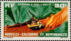 [Airmail - Nickel Production at Houailou, type DP]