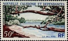 [Airmail - Isle of Pines, Typ DQ]
