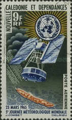 [Airmail - World Meteorological Day, Typ DU]