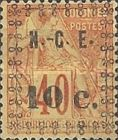 [French Coloniues, General Issues Postage Stamps Surcharged, Typ F1]