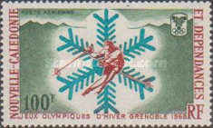 [Airmail - Winter Olympic Games - Grenoble, France, Typ FE]