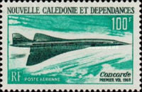 [Airmail - The 1st Flight of Concorde, Typ FW]