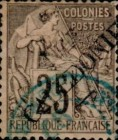 [French Colonies, General Issues Postage Stamps Overprinted