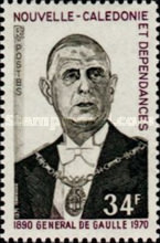 [The 1st Anniversary of the Death of Charles de Gaulle, 1890-1970, type HN]