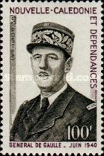 [The 1st Anniversary of the Death of Charles de Gaulle, 1890-1970, Typ HO]