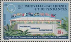 [Airmail - The 25th Anniversary of South Pacific Commission, type HR]