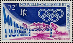 [Airmail - Olympic Games - Munich, Germany, type IC]
