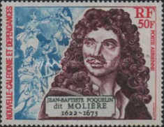 [Airmail - The 300th Anniversary of the Death of Miliere, 1622-1673, Typ IF]