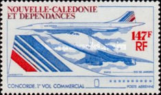 [Airmail - First Commercial Flight of Concorde, Typ JZ]