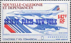 [Airmail - The 1st Commercial Flight of Concorde, Paris-New York, Typ JZ1]