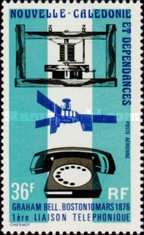 [Airmail - The 100th Anniversary of the Telephone, Typ KF]